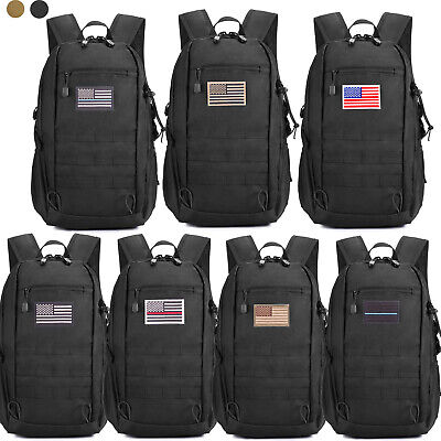 Military Tactical Molle Backpack Waterproof Trekking Army As