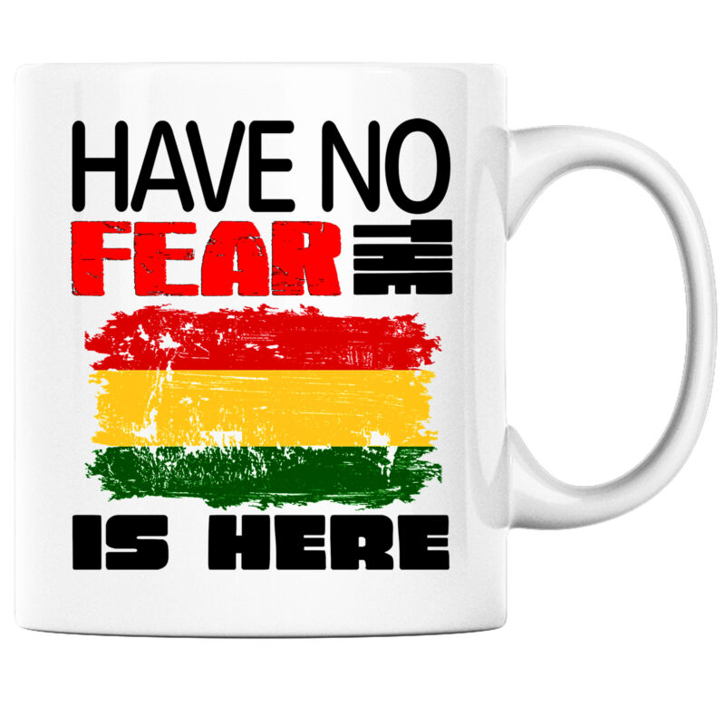 Have No Fear the Bolivian is Here Funny Coffee Mug Bolivia Heritage Pride