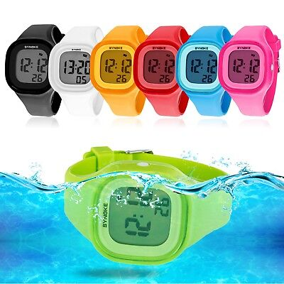 of Electronic Sport Digital Wrist Watch For Child Girls Boys (Wrist Electronic Watch)