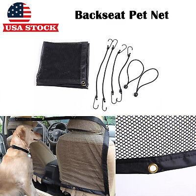 Pet Dog Mesh See Through Dog Car Barrier Back Seat Safety Pet Net Christmas Sale