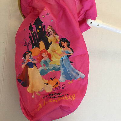 New DISNEY Princess Loot Scoop Bag Halloween NWT Snow White Belle Jasmine Ariel