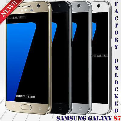 "Samsung Galaxy S7 G930V 4G LTE 32GB 4RAM 5.1"" HD 12MP Android Unlocked Phone NEW"