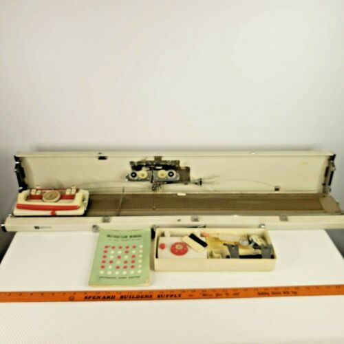 Vintage 1963 Silver Studio SK-103 Automatic Home Knitter Knitting Machine