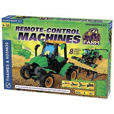 Remote Control Machines: Farm Engineering Kit Thames & Kosmos Science 620381
