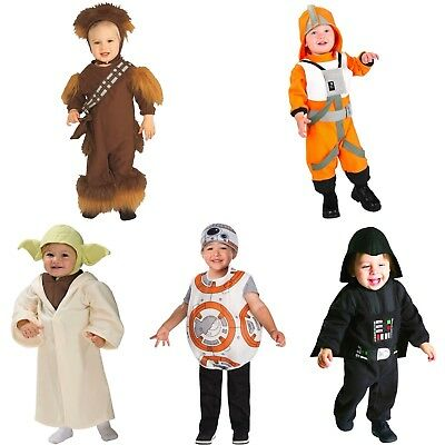 Disney Star Wars Toddler Costume Chewbacca Luke Skywalker X Wing Pilot BB8 New - Toddler Chewbacca Costume