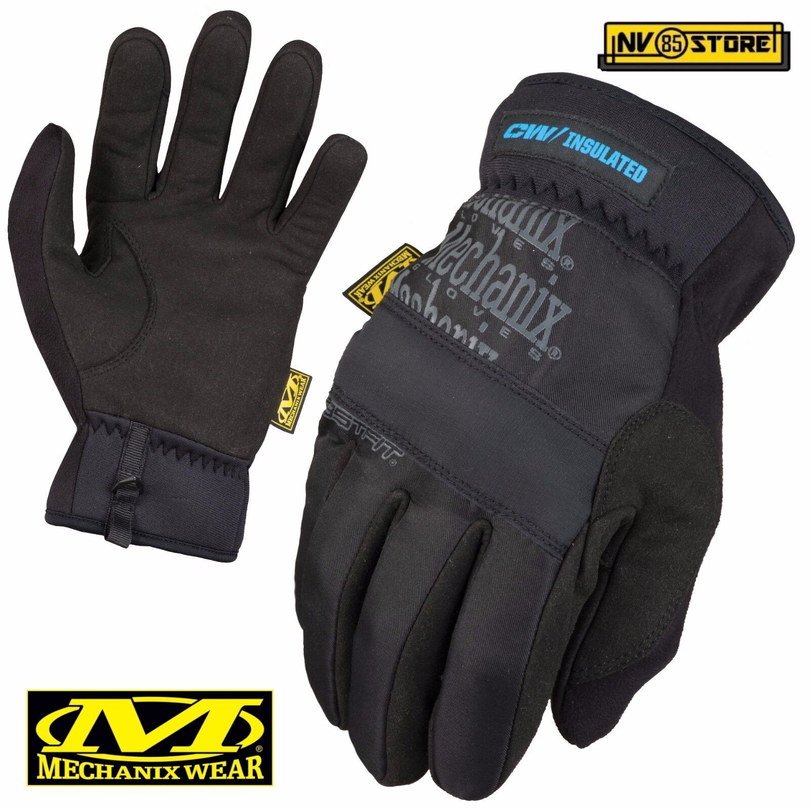 Guanti MECHANIX Fast Fit Insulate Tactical Gloves Softair Security Antiscivolo