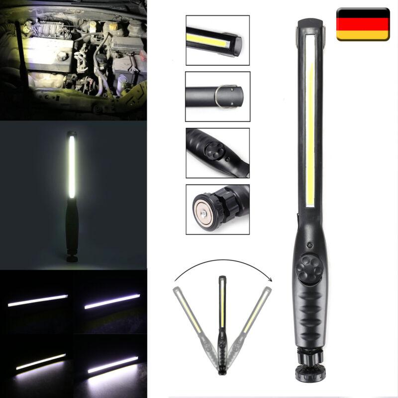 3000mA COB LED KFZ Arbeitsleuchte Akku Werkstattlampe Handlampe Mit Magnet