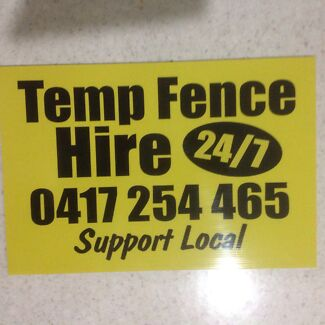 Tempfence hire for community functions,,,,concerts,,,,,ect Coffs Harbour 2450 Coffs Harbour City Preview