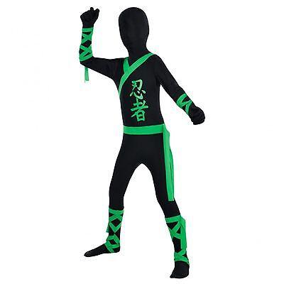 Kinder Jungen Mädchen Kinder Karneval Haut Kostüm Suit Ninja Kämpfer