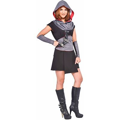 BRAND NEW-LAST ONE-WOMENS CRUSADER COSTUME- KNIGHT- MEDIEVAL SIZE MED 8-10](Knight Costume Women)