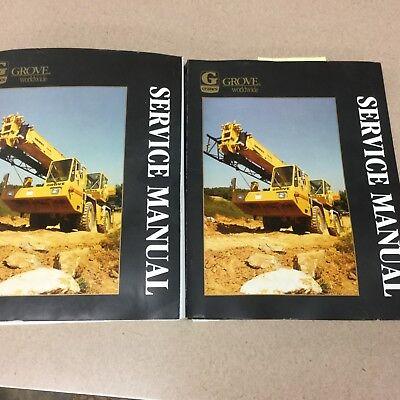 Grove Rt500c Series Service Shop Repair Manual Rough Terrain Crane Maint. Guide