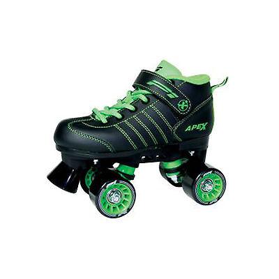 Apex P1 Children Boys Quad Roller Skates Size 10J-5 Boys Quad Roller Skates