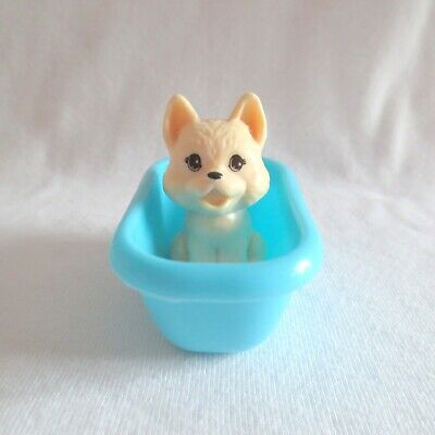 NEW Barbie Careers Doll Pet Groomer Puppy Dog & Blue Bath Tub