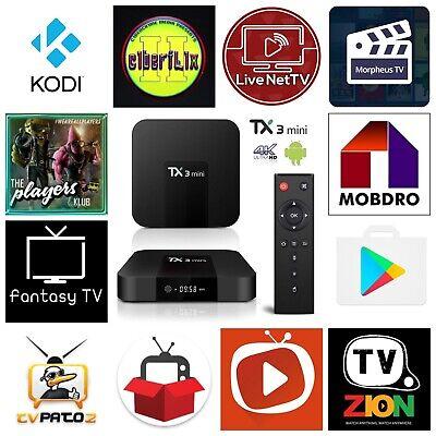TX3 mini 2GB/16GB ANDROID 7.1 TV BOX for sale  Romeo