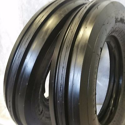 2 550x16 550-16. 5.50x16 Deere Ford Six Ply 3 Rib Tractor Tires Wtubes 5.50-16