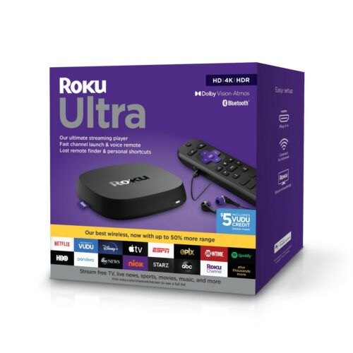 Roku Ultra 2020 | Streaming Media Player HD/4K/HDR/Dolby Vision 4800rw