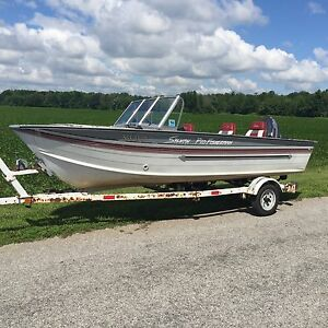 16ft fishing boat