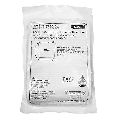 1x Smiths Cadd Medication Cassette Reservoir 100ml 21-7302-24 Expire 04092024