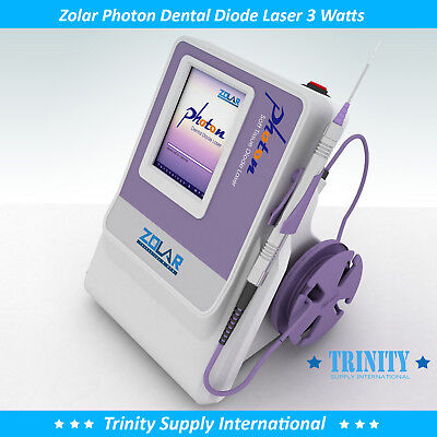 Dental Diode Laser 3 Watts Complete Set. Unbeatable Warranty. Zolar Photon