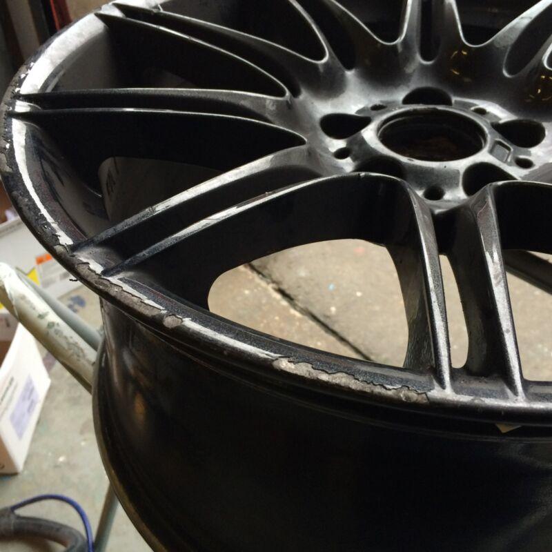 Damaged BMW M3 Alloy Wheel.