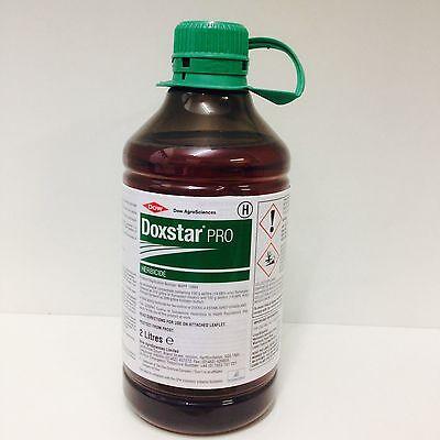 Doxstar Pro Herbicide 2Ltr Weed Killer Docks Concentrate 2.5 - 5 Acres Grassland