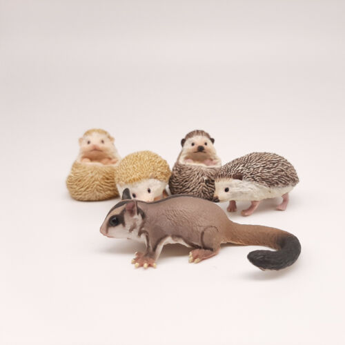 Kaiyodo, CapsuleQ Museum, Mysterious Pet Collection - Hedgehods+Sugar Glider