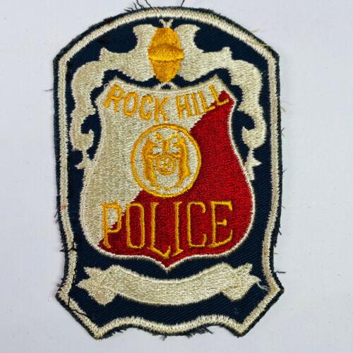 Rock Hill Police Missouri Patch (A1)