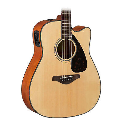 Yamaha FGX800C Acoustic-Electric Guitar - Natural