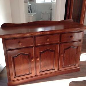 Solid Wood Buffet Casula Liverpool Area Preview