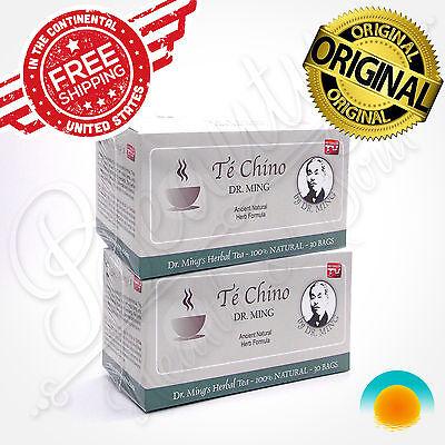 Te Chino Del Dr Ming 60 Bags Natural Sliming Tea Diet Detox Fatburner Weightloss