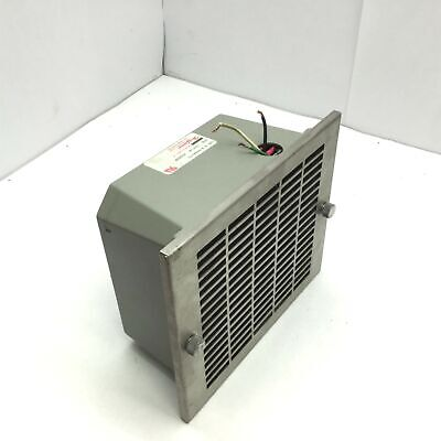 Hoffman A-pa6axfn Fan Enclosure 6 Fan 240 Cfm 115v 5060hz Single Phase