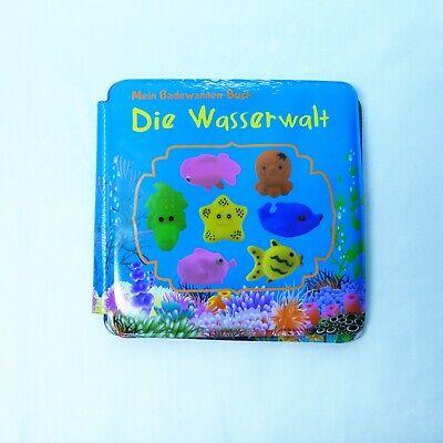 Badewanne kinder Buch,Badebuch mitGeschichte, Spielzeug Baby Bade Buch