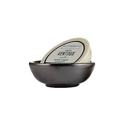 Jabon EAU DU VENTOUX + Bol de Ceramica para Afeitado con Brocha de Afeitar 7001