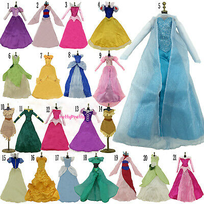 17 Inch Doll Clothes - Retro Princess Clothes Outfit Ball Gown Dress For 17 inch Doll Chirstmas Gift U