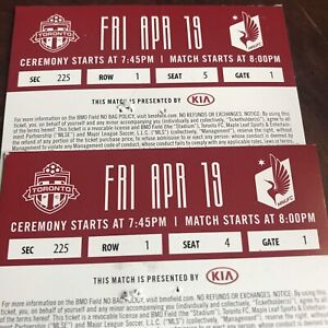 Toronto FC tickets for tonight