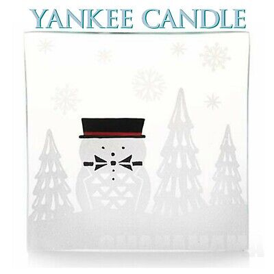 Yankee Candle Jackson Frost Jar Candle Tray ⛄ NEW IN BOX ⛄ Christmas / Winter
