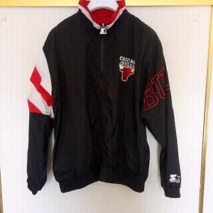 Vintage NBA Chicago Bulls Starter Jacket Large Melbourne CBD Melbourne City Preview