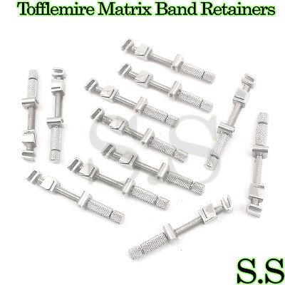 12 Universal Tofflemire Matrix Band Retainers Dental