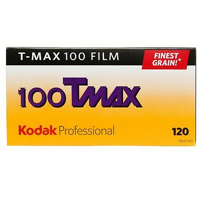 KODAK  T-MAX  100  120   5 Filme  SONDERPREIS   06/2019 KURZLÄUFER