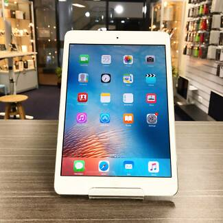 As new iPad Mini 2 with retina display white 16G WiFi AU MODEL