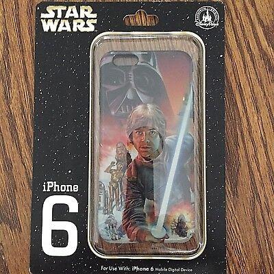 Disney STAR WARS Luke / Darth Vader / R2-D2 / Chewbacca iPhone 8/7s/7/6s/6 Case