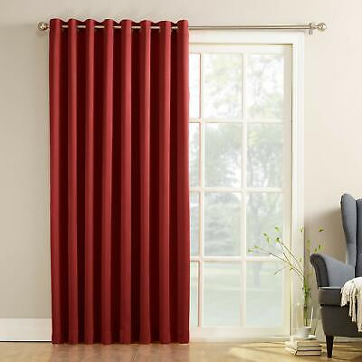 French Door Curtain Panel Sliding Glass Patio Outdoor w/ Grommets 100