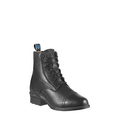 Ariat® Ladies Performance Pro VX Paddock Black Lace-up Boots - Lace Up Paddock Boot