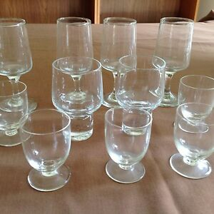 Set of 11 Liquer Glasses