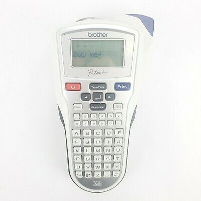 Brother Industries P-touch White Label Maker Thermal Printer Model Pt-1010euc