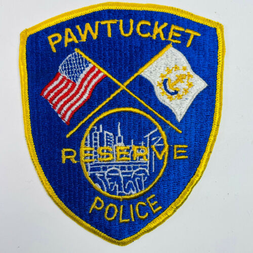 Pawtucket Police Reserve Providence County Rhode Island Patch (A5-B)