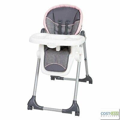 Baby Trend Dine Time 3-in 1 High Chair Starlight Pink
