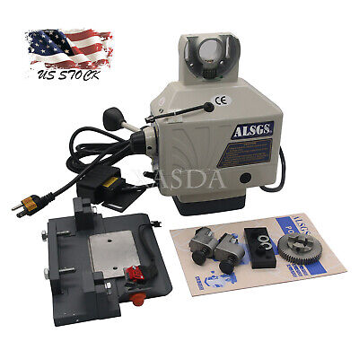 Alsgs 110v Power Feed For Vertical Milling Machine X Y Axis Al-310sx