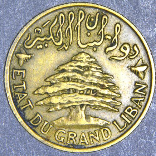 Lebanon  - 1925 (a) - 2 Piastres - KM# 4 B238