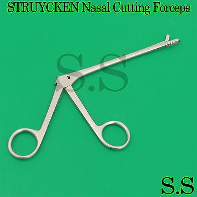 "STRUYCKEN Nasal Cutting Forceps 4"" ENT Surgical Instruments"